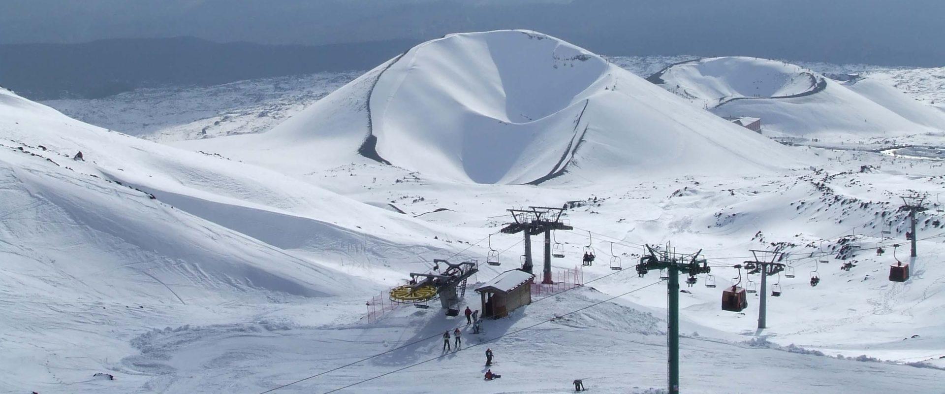 Stazione sciistica Etna Nord